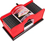 Kangaroo Card Shuffler (2-Deck) for Blackjack, Poker; Quiet, Easy to Use;