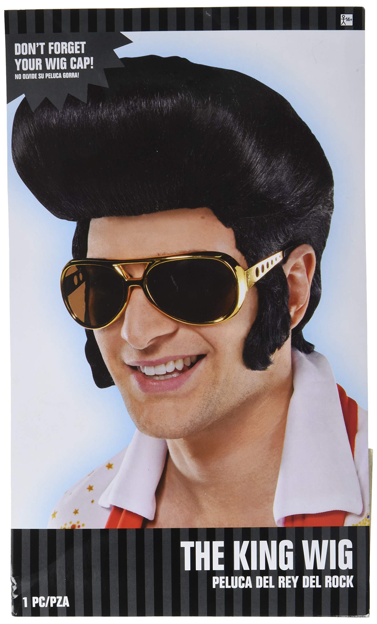 amscan Elvis Wig, 3 Ct.