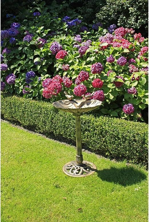 Unbekannt Bebedero para pájaros de Arilando, en 2 Variantes, Fuente para pájaros, Fuente para pájaros Silvestres, baño para pájaros, marrón: Amazon.es: Jardín