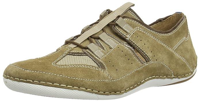 Josef Seibel Till 09, Sneakers Basses Homme - Beige - Beige (Shell/Kombi), 47