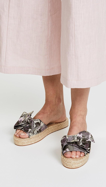 Rebecca Minkoff Women's Giana Bow Slide Sandal 7SmbAg6