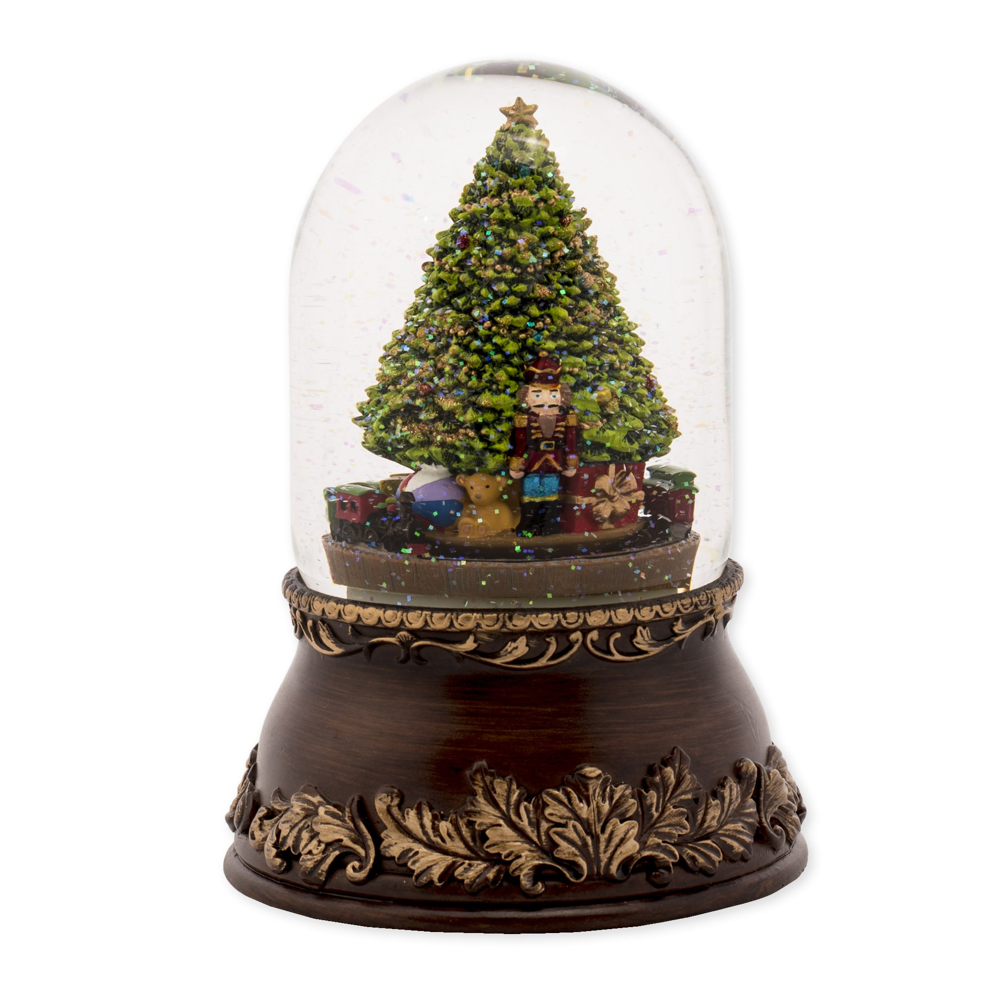 Musical Tree with Train Dome Globel