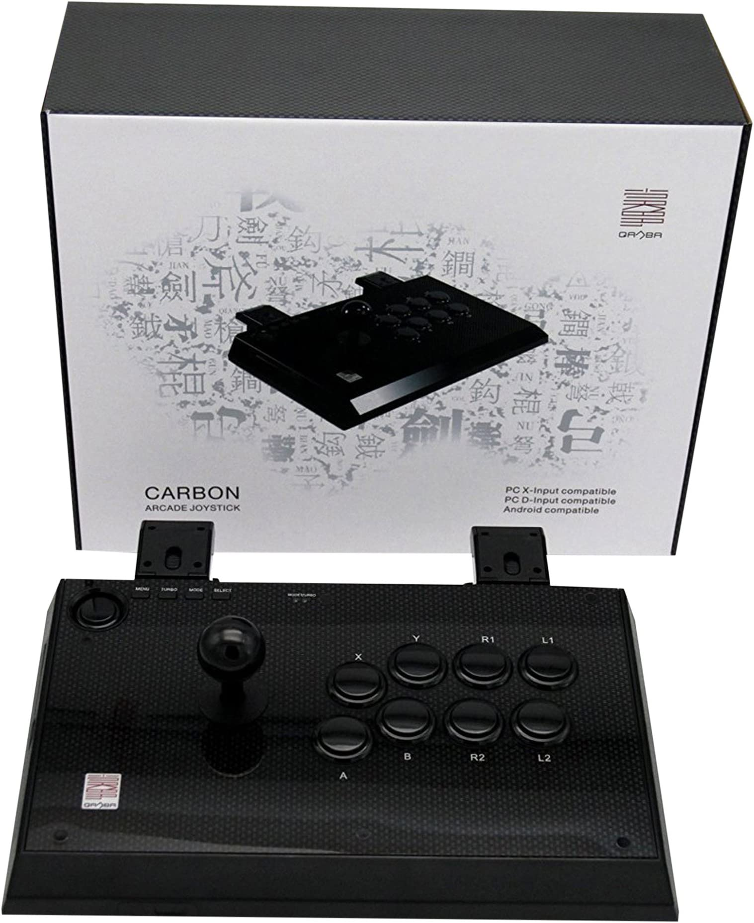 Qanba Carbon Joystick for PlayStation 3 and PC (xam)