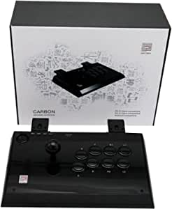 Qanba Carbon Joystick for PlayStation 3 and PC (Fighting Stick)