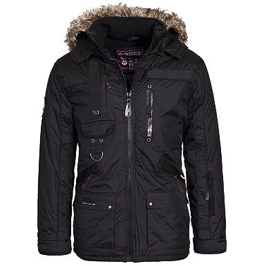 Geographical Norway Herren Winterjacke Jacke GrS Xxxl Chir Premium Parka D9IEH2W