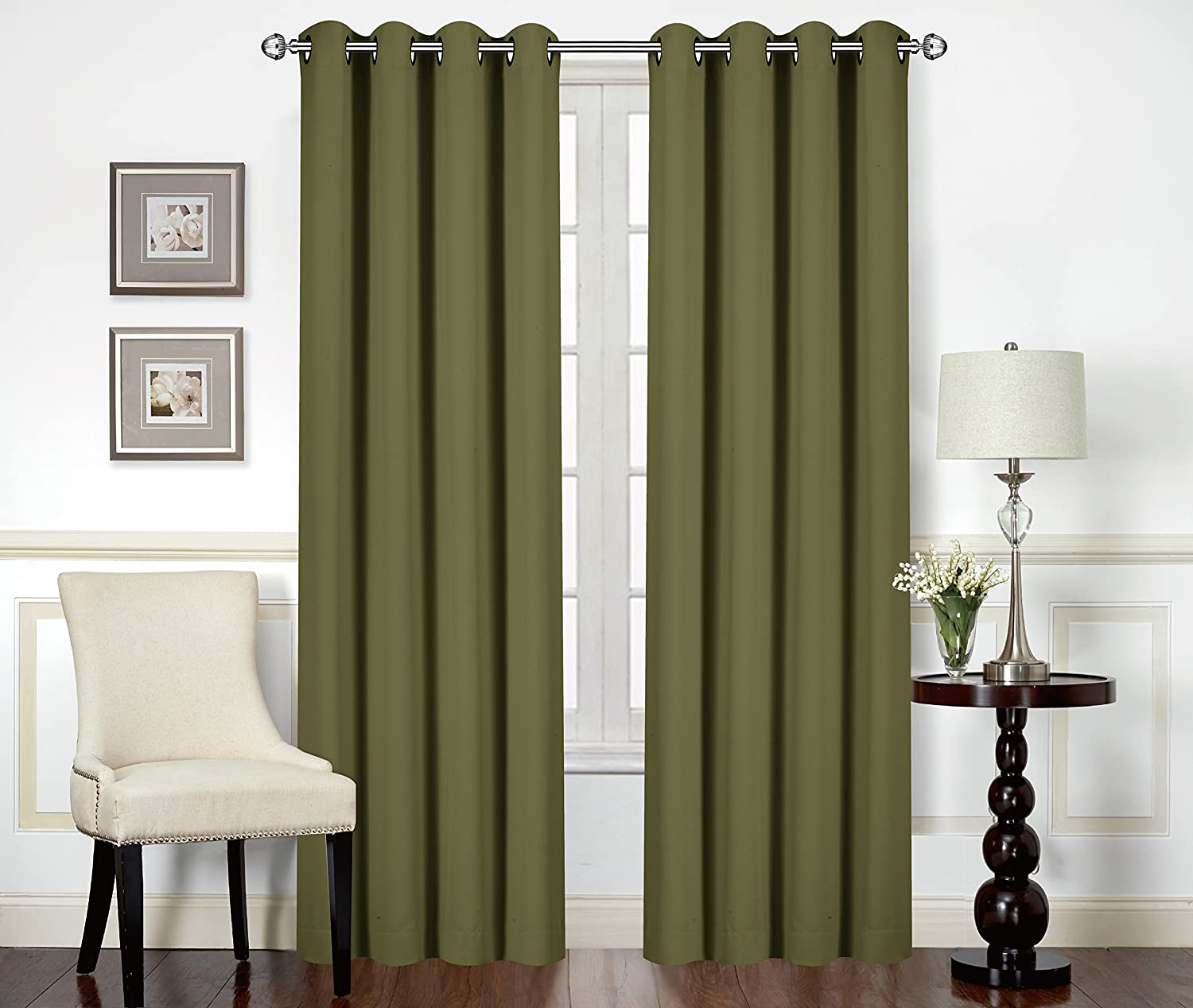 Amazon Utopia Bedding Blackout Room Darkening And Thermal Insulating Window Curtains Panels Drapes