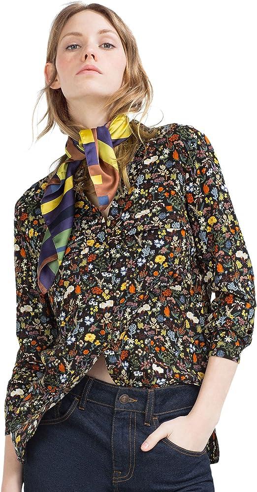 Zara - Camisa Estampada, Talla XS: Amazon.es: Ropa y accesorios