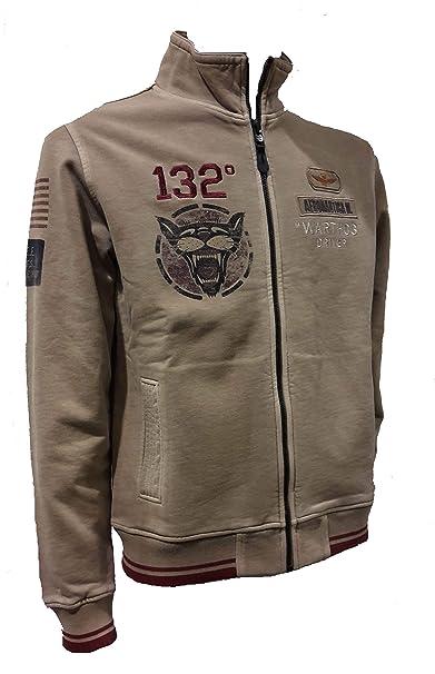 Aeronautica Militare Felpa FE1373 Tortora, Sweatshirt