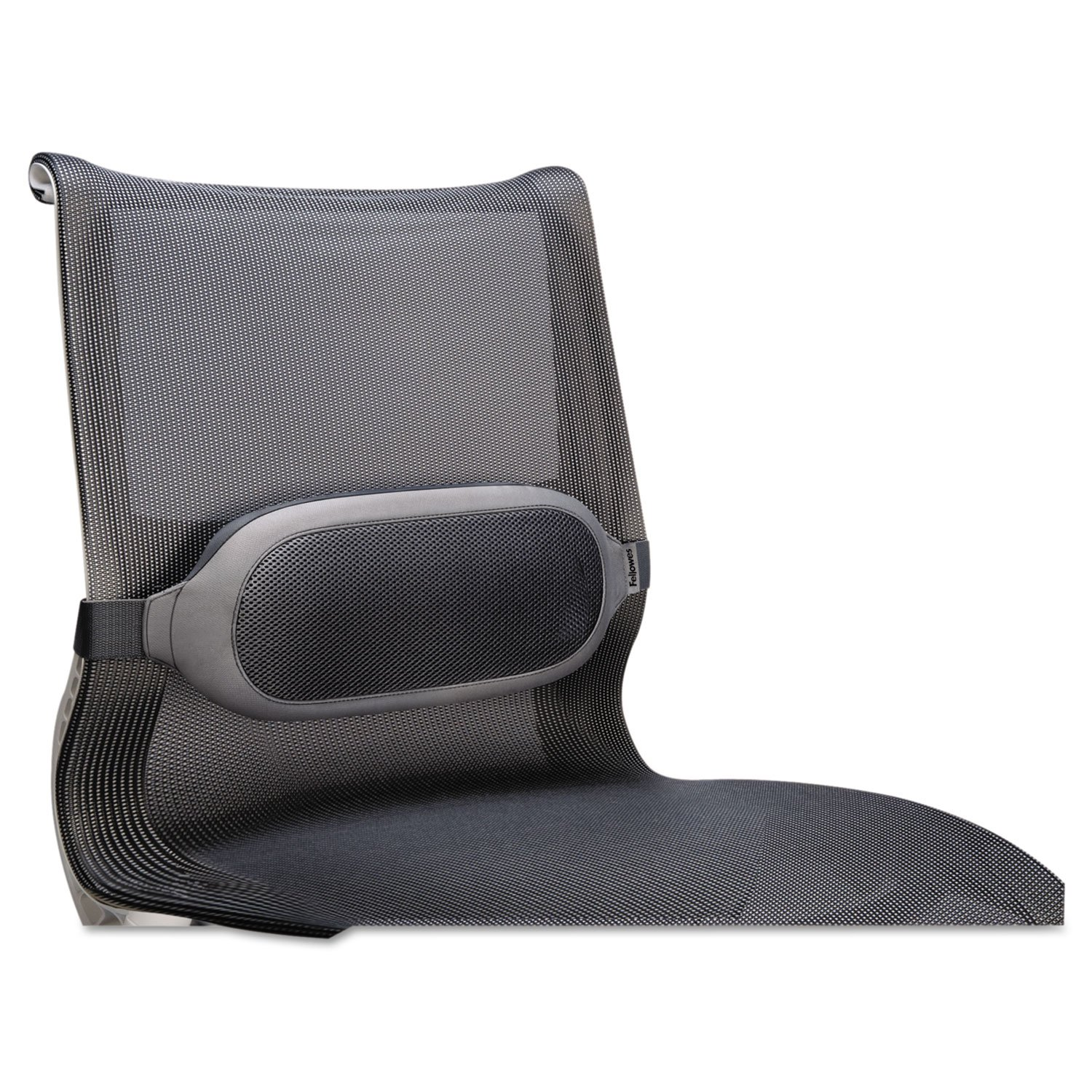 FEL9311601 UNITED STATIONERS (OP) BACKREST,LUMBAR CUSHON,GY