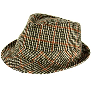 666ed0c9d7b TWEED TRILBY HAT CLASSIC COUNTRY STYLE HIGH QUALITY by Hawkins - 4 ...
