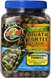 Zoo Med Laboratories SZMZM110 Natural Aquatic Turtle Food, 6.5-Ounce