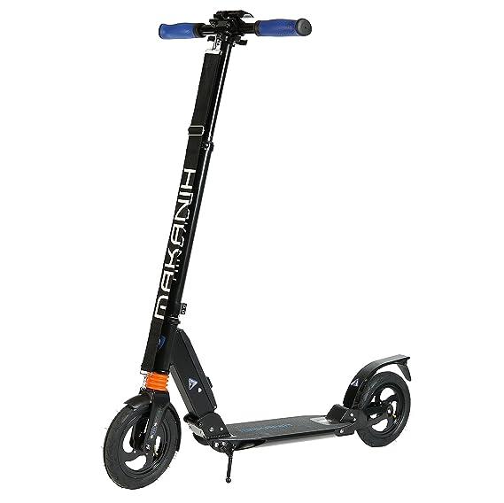 makanih® de neumáticos de aire Roller - Patinete para adultos City Big Wheel aluminio Kick Scooter Patinete 200 mm para niños a partir de 12 con doble ...