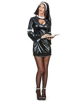 Disfraz de monja sexy mujer - S: Amazon.es: Juguetes y juegos