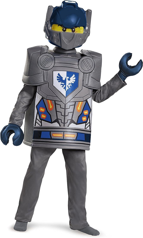 LEGO - Disfraz Deluxe del Personaje Clay de Nexo Knights: Amazon ...