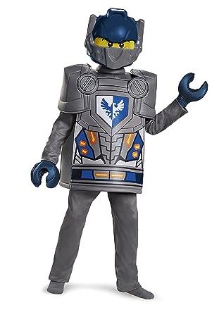 LEGO - Disfraz Deluxe del Personaje Clay de Nexo Knights  Amazon.es ... d0e985cf87ec