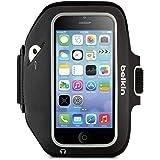 Belkin Sport-Fit Plus Armband for iPhone 5 / 5S / 5c / SE (Black / Overcast)