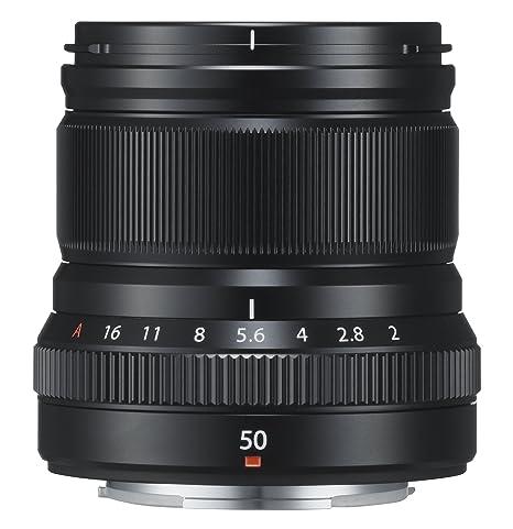 Fujifilm FUJINON XF50mm F2 R WR Objektiv schwarz