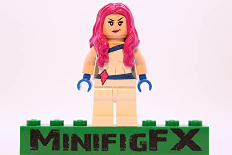 BLACK BOLT Custom Printed Lego Marvel Inspired Minifigure