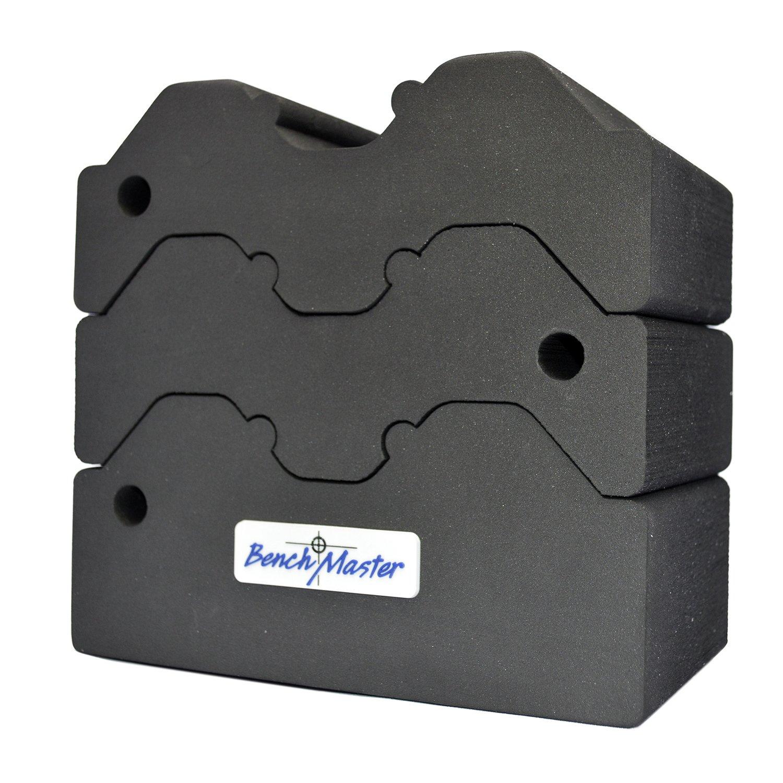 Benchmaster BMWRABB3 Weapon Rack 3 Piece Adjustable Shooting Gun Rest