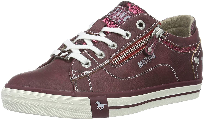 Mustang Damen 1146-301 Sneakers Rot (55 Bordeaux)