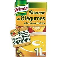 Knorr Soupe Douceur de 8 Légumes à la Crème Fraîche 1 L