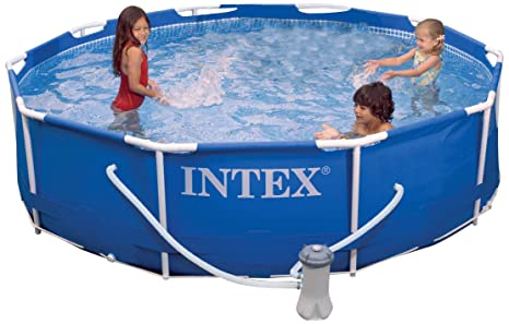 Intex 56998EG - Piscina (Piscina con anillo hinchable, Círculo, 4485 L, Metal