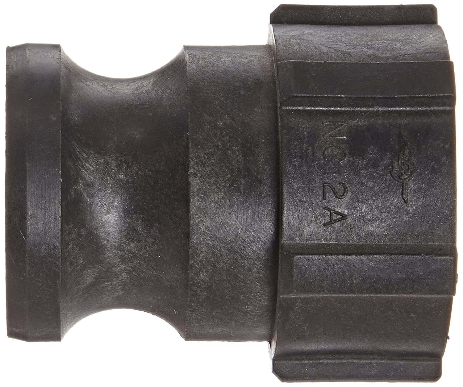 Poly A-Adapter 1 Adapter x NPT Female PT Coupling Basic Standard Series 10A Polypropylene Cam and Groove Hose Fitting