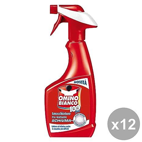Muñeco blanco Juego 12 Quitamanchas schiuma-spray 500 ml. Limpiadoras Casa