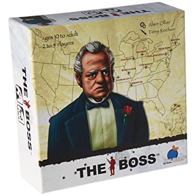 Blue Orange Games The Boss Card Game: Toys & Games