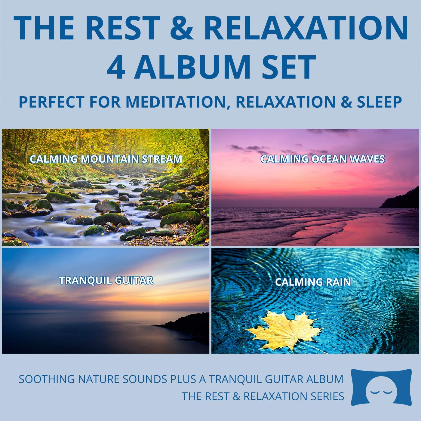 Relaxing Nature Sounds 4 CD Set - for Meditation, Relaxation and Sleep - Nature's Perfect White Noise