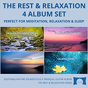 Relaxing Nature Sounds 4 CD Set - for Meditation, Relaxation and Sleep - Nature's Perfect White Noise -<span class=