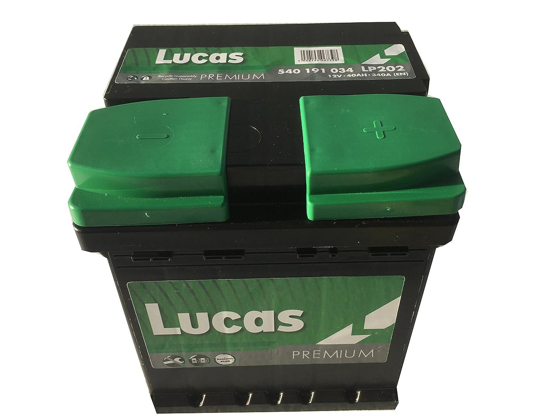 En Lucas Premium Lp202 Batterie Voitures 12 V 40Ah 340 Amps