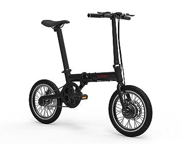 Hoobike Bicicleta Eléctrica Plegable, 250 W, batería de 36V, 5,2Ah,