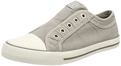 Damen 24635 Sneaker, Grau (Lt Grey), 42 EU s.Oliver