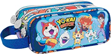 Portatodo Tres Compartimentos Cuadrado Yo Kai Watch Team: Amazon.es: Electrónica