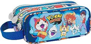 Portatodo Tres Compartimentos Cuadrado Yo Kai Watch Team: Amazon.es: Electrónica