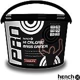 4KG HENCH NUTRITION HI-CALORIE MASS GAINER / WEIGHT GAIN WHEY PROTEIN POWDER - CHOCOLATE