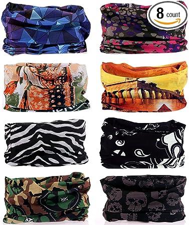 Foulard Headwear Dinosaurs Cute Balaclava Womens Headband Scarf Mens Versatile Bandana Neck Gaiter Muffler Magic