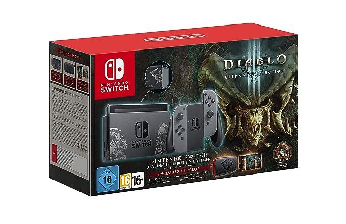 Nintendo Switch - Edición Limitada Diablo III: Nintendo ...