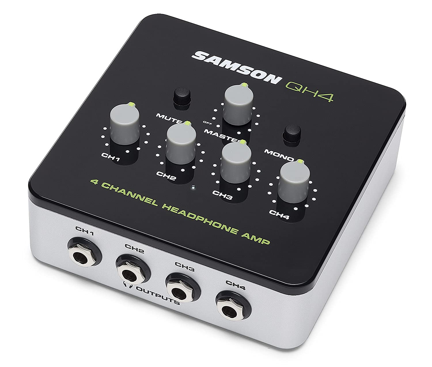 Samson QH4 4-Channel Studio Headphone Amplifier Samson Technologies SAQH4