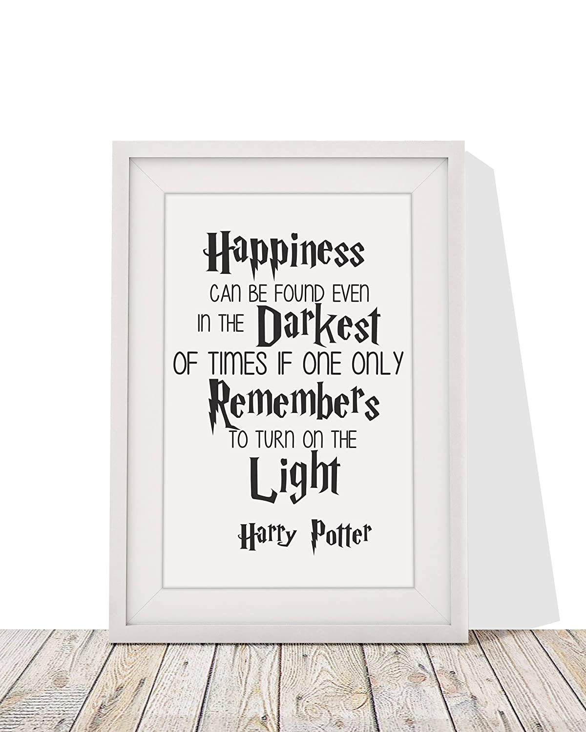 Harry Potter Themed Gift Quote - \'Happiness Can Be Found In Even The ...