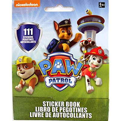 Paw Patrol Sticker Booklet | Party Favor: Toys & Games