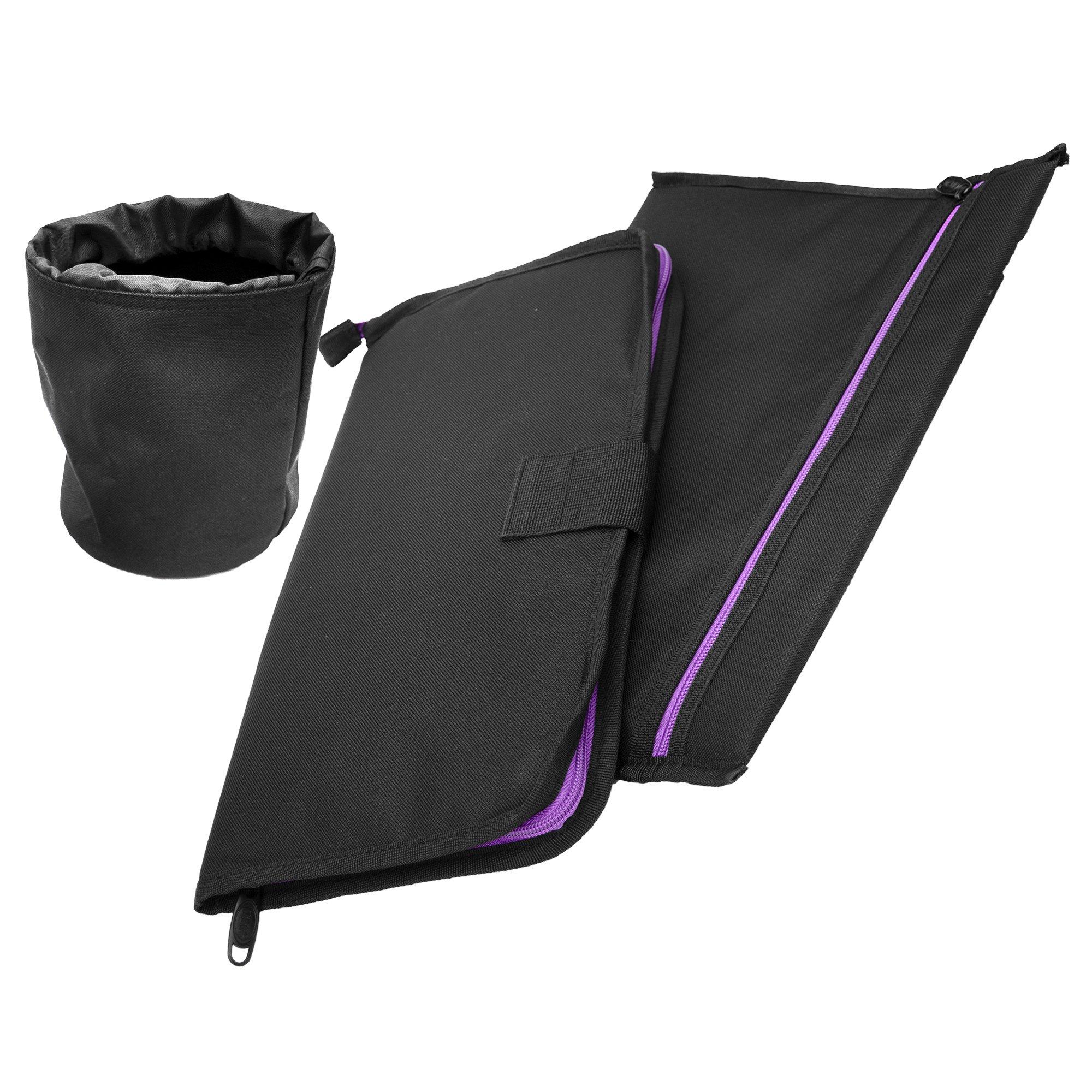 UTG All in One Range/Utility Go Bag, Black/Violet, 21'' x 10'' x 9'' by UTG (Image #14)