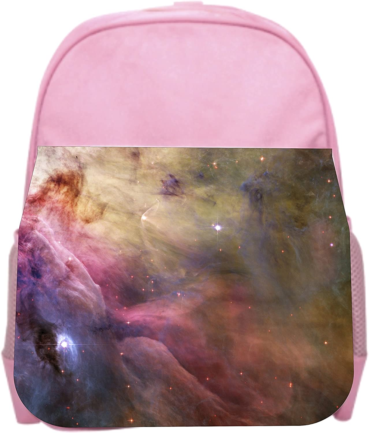 Girls Pink Preschool Toddler Childrens Backpack /& Lunch Box Set Space Galaxy