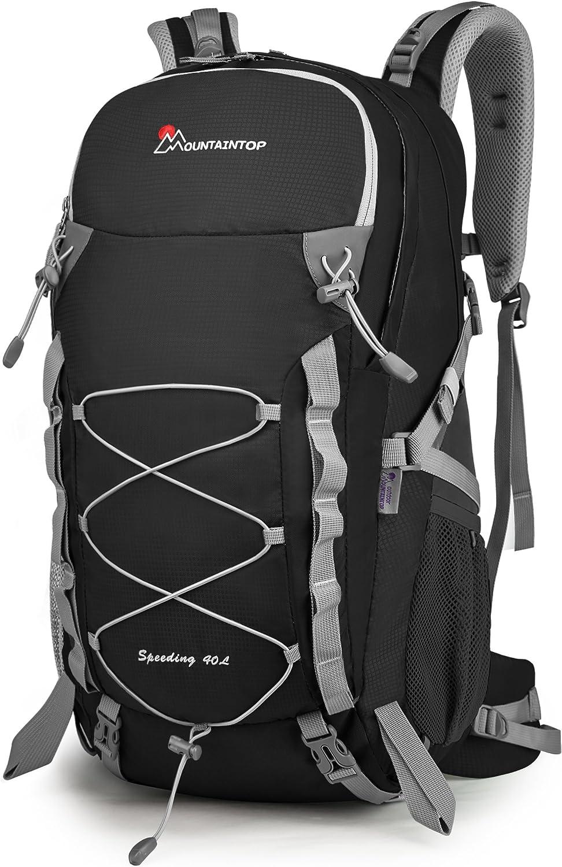 MOUNTAINTOP Sac /à Dos de randon/ée 40L Trekking Voyage pour Homme Femme Alpinisme Loisir Sac Randonnee