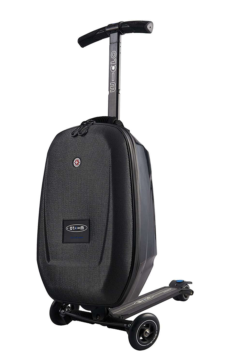 Micro Mobility ML0005 Micro Luggage II - Patinete, Color Negro