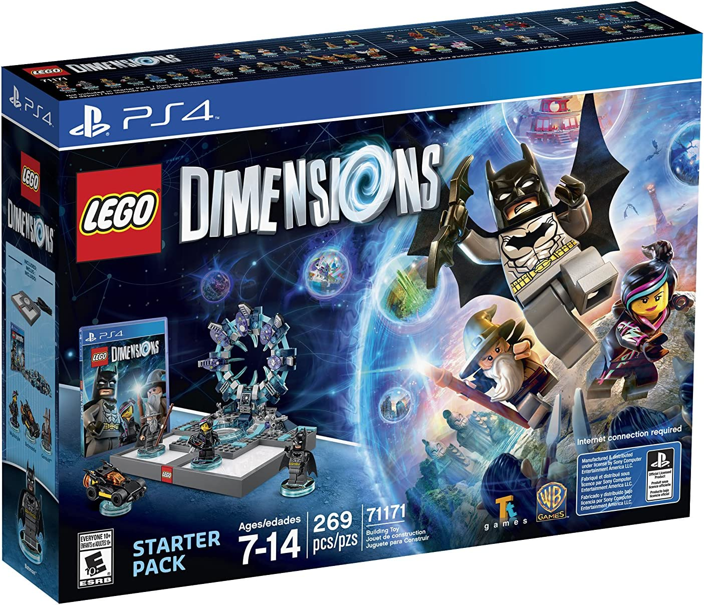 Amazon Com Lego Dimensions Starter Pack Playstation 4 Whv Games
