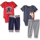 Carter's Baby Boys' 4-Piece Bodysuit and Pant Set