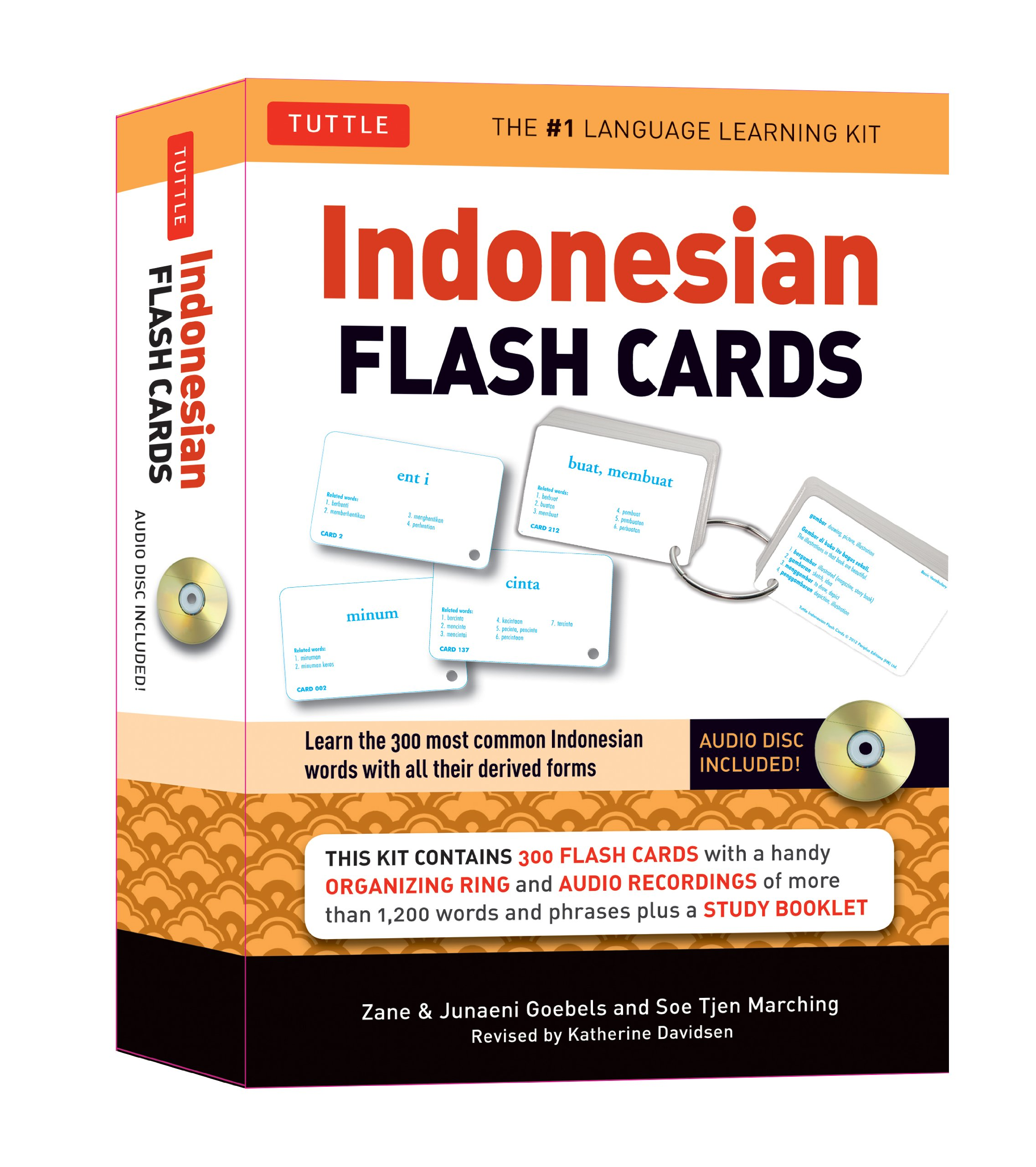 Amazon.com: Indonesian Flash Cards: Learn the 300 most common ...