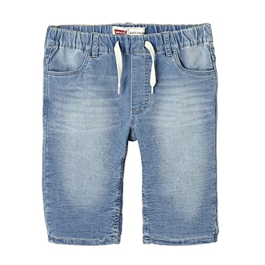 2f105c0a8b2d2 Levi's Boy's Bermuda Jogger Shorts: Amazon.co.uk: Clothing